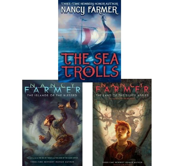 英语有声The Sea Of Trolls 1-3部送配套电子书满300包邮- 给你